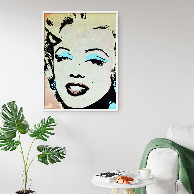 Monroe Print - Stickaroo Wall Decor