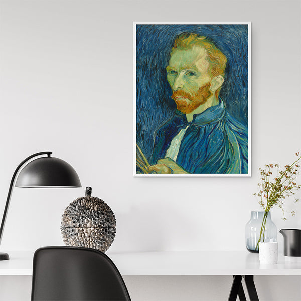 Van Gogh Print - Self Portrait - Stickaroo Wall Decor
