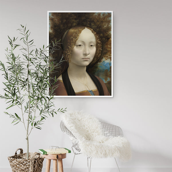 Da Vinci Print - Stickaroo Wall Decor