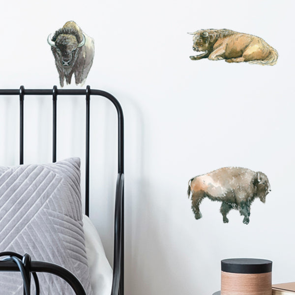 Bison - Stickaroo Wall Decor
