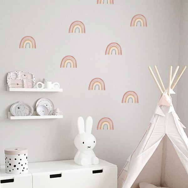 Bohemian Rainbow Pattern - Stickaroo Wall Decor