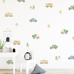 Cars & Trees - Stickaroo Wall Decor