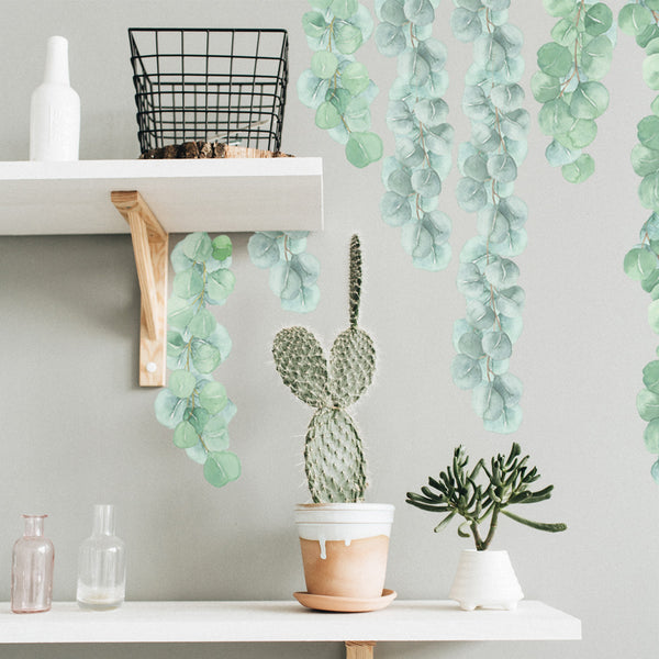 Eucalyptus Strands - Stickaroo Wall Decor