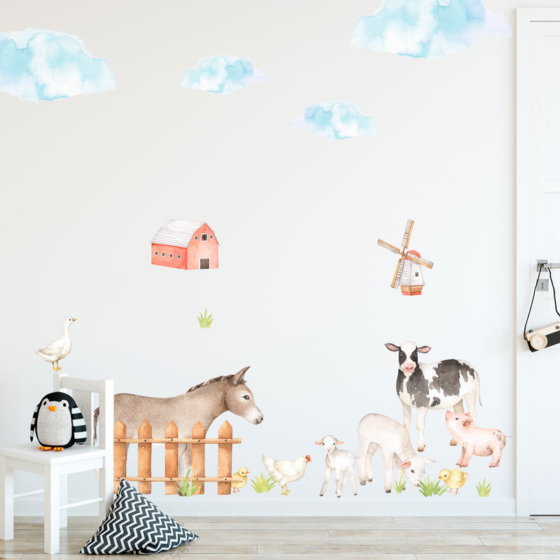 Farm Animals - Stickaroo Wall Decor