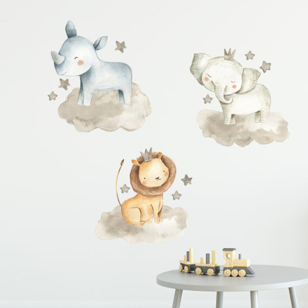 Floating Safari - Stickaroo Wall Decor