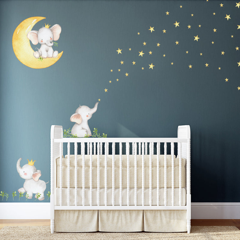 Goodnight Elephants - Stickaroo Wall Decor