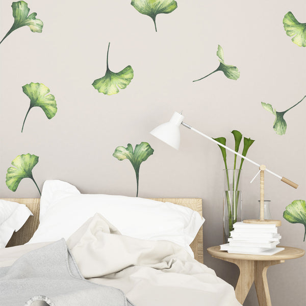 Green Leaves - Stickaroo Wall Decor