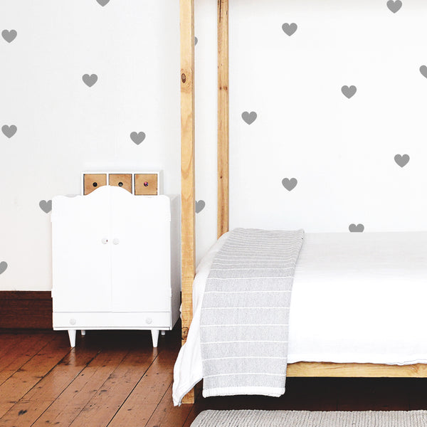 Heart Pattern - Stickaroo Wall Decor