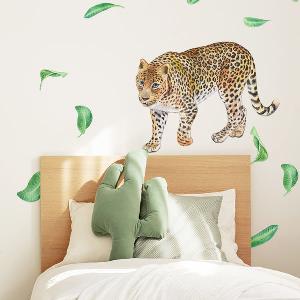 Jungle Leopard - Stickaroo Wall Decor
