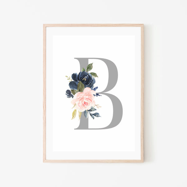 Letter Bouquet - Stickaroo Wall Decor