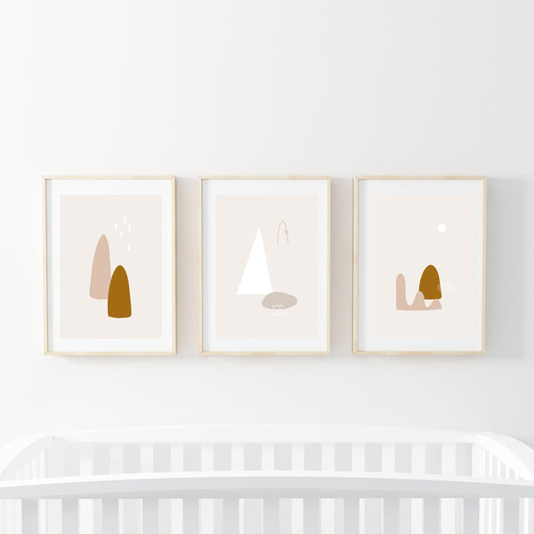 Nordic Series Print Set - Stickaroo Wall Decor