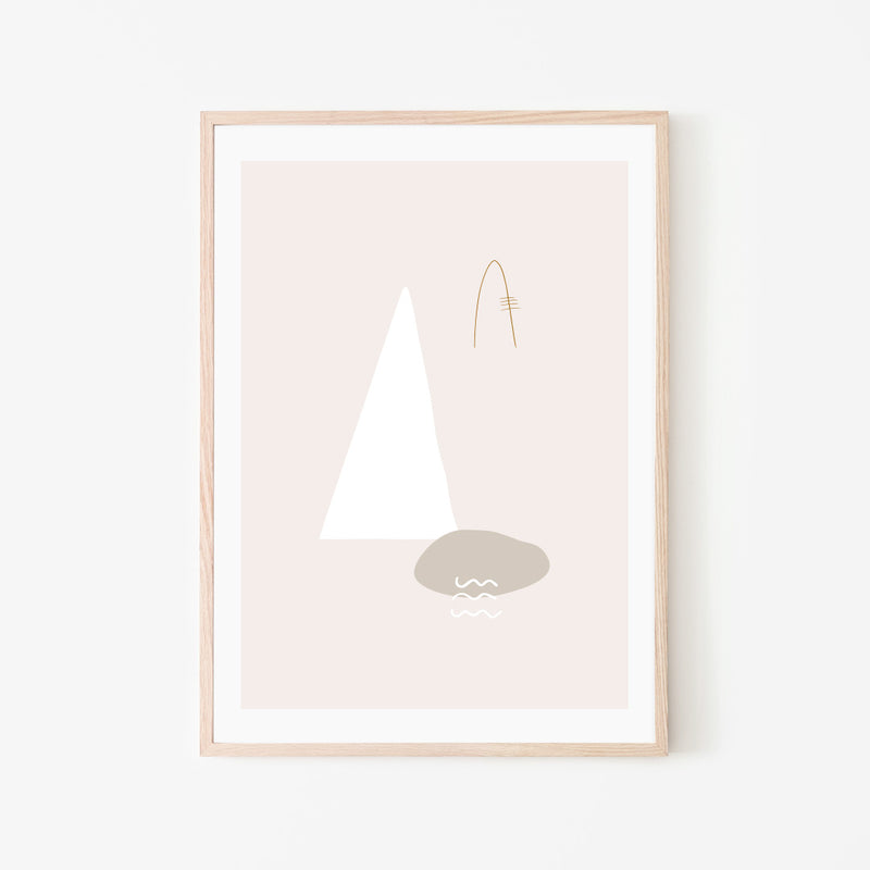 Nordic Stream Print - Stickaroo Wall Decor