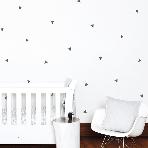 Small Triangles - Stickaroo Wall Decor