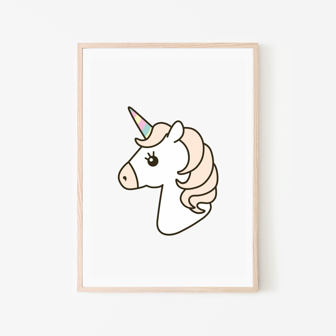 Unicorn Print Stickaroo