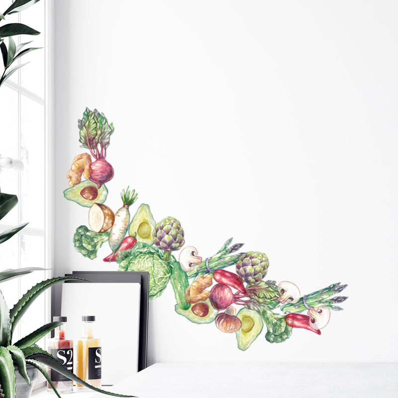 Vegetables - Stickaroo Wall Decor