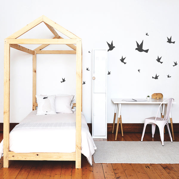 Vintage Swallows - Stickaroo Wall Decor