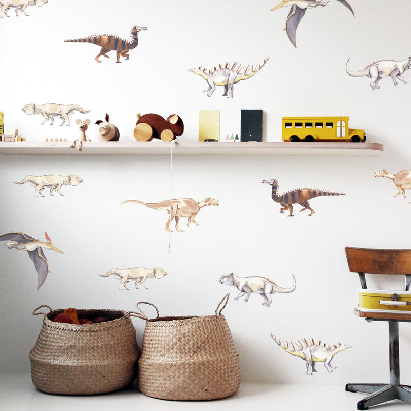 Vintage Dinosaurs - Stickaroo Wall Decor