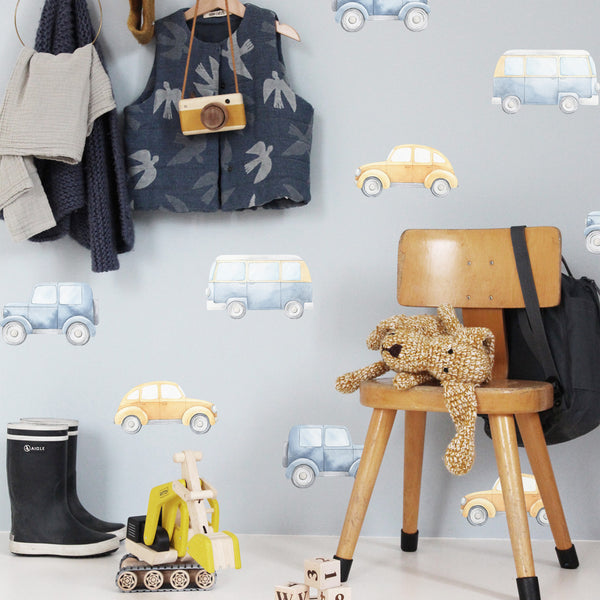 Vintage Cars - Stickaroo Wall Decor