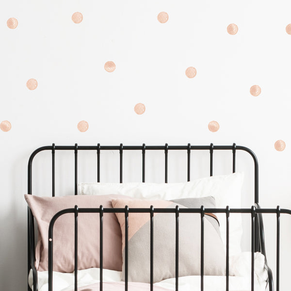 Watercolour Dots - Stickaroo Wall Decor