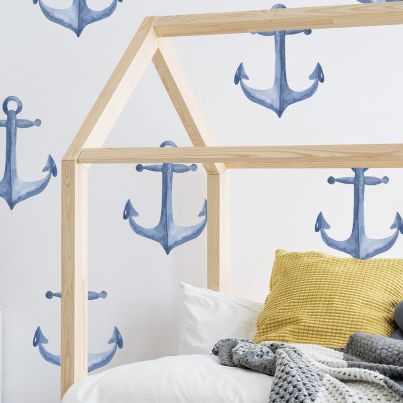 Watercolour Anchors - Stickaroo Wall Decor