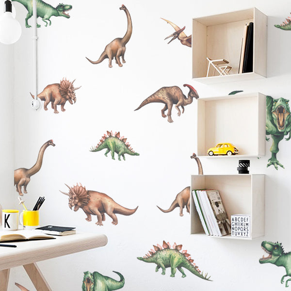 Watercolour Dinosaur Pattern