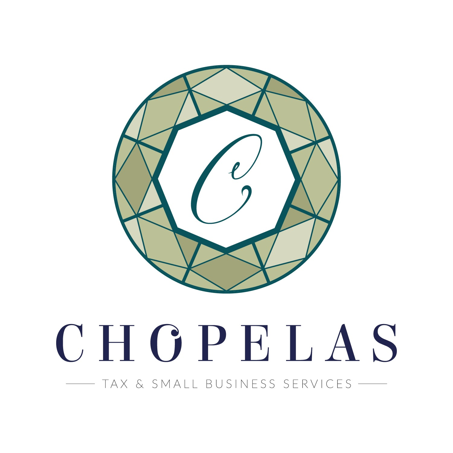 leanne and company chopelas tax services logo design charlotte nc