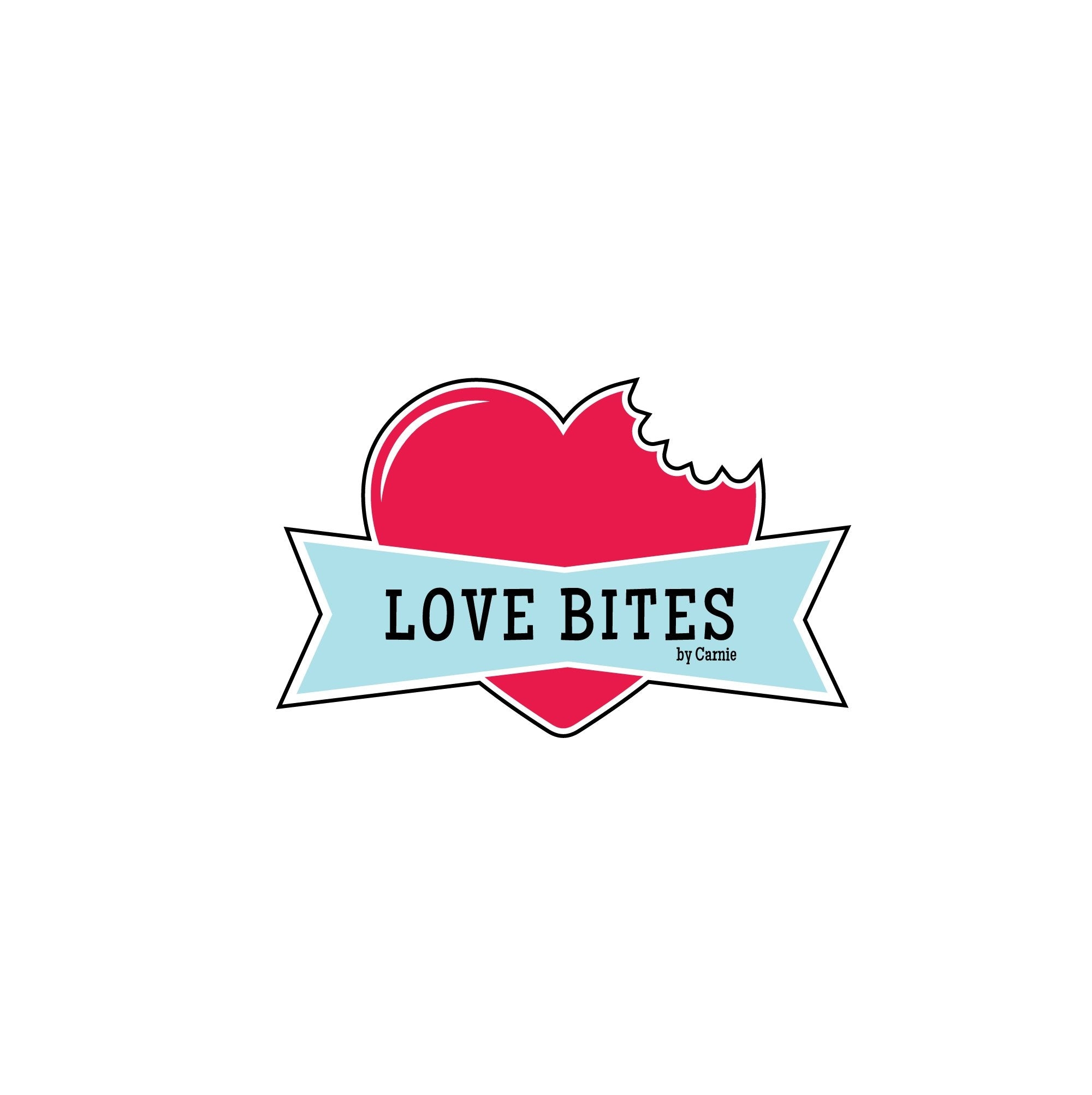 leanne and company love bites by carnie logo design charlotte nc