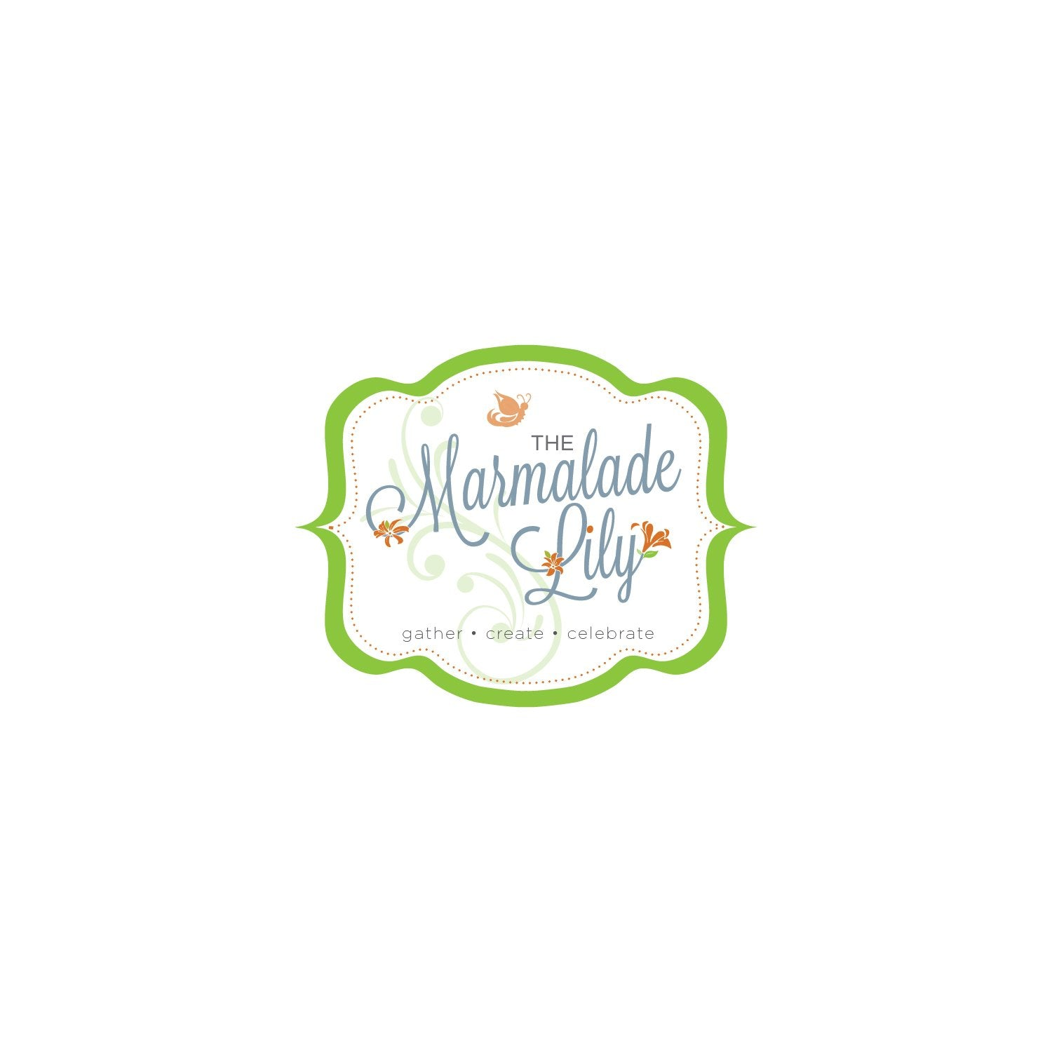 leanne and company marmalade lily logo design charlotte nc