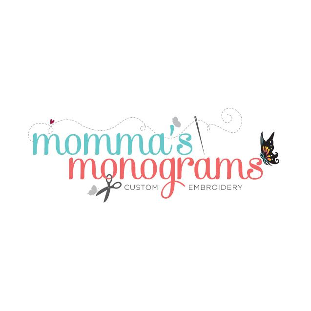 leanne and company momma's monograms logo design charlotte nc