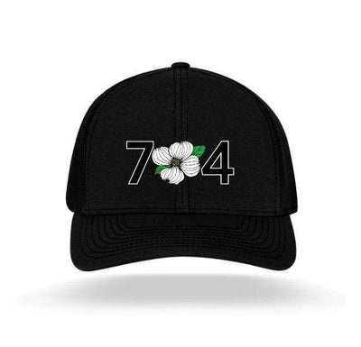 In The 704 Hat black 704 Trucker Snapback