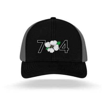 In The 704 Hat black/grey 704 Trucker Snapback
