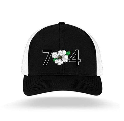 In The 704 Hat black/white 704 Trucker Snapback