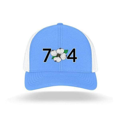In The 704 Hat carolina blue 704 Trucker Snapback