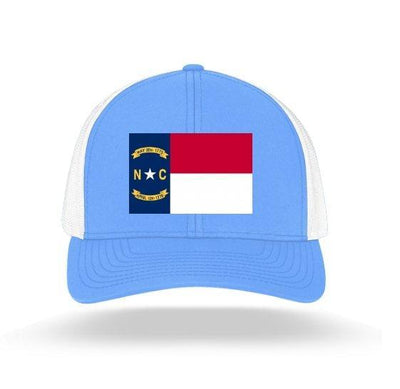 In The 704 Hat carolina blue North Carolina State Flag Trucker Snapback