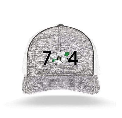 In The 704 Hat heather grey 704 Heather Trucker Snapback