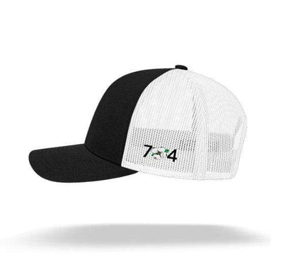 In The 704 Hat North Carolina State Flag Trucker Snapback