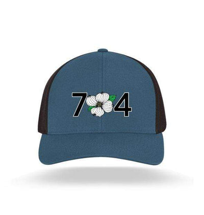 In The 704 Hat ocean blue 704 Trucker Snapback