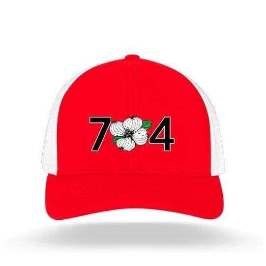 In The 704 Hat red 704 Trucker Snapback