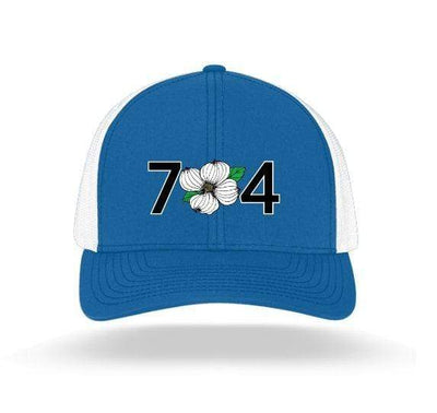 In The 704 Hat royal blue 704 Trucker Snapback