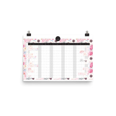 Leanne & Co. 12×18 2020 Full Year View Calendar