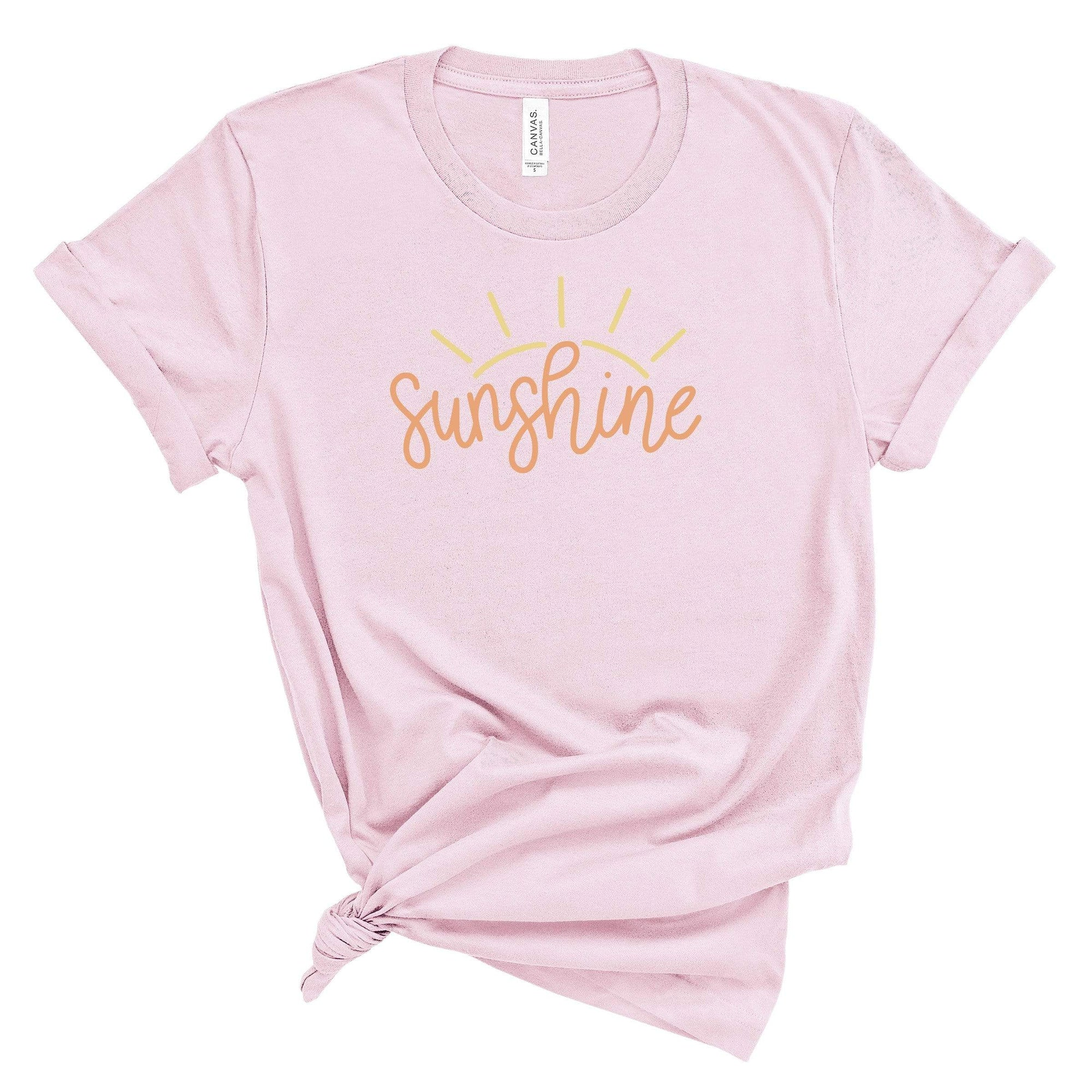 Leanne & Co. Apparel Hello Sunshine Adult Short-Sleeve Unisex T-Shirt