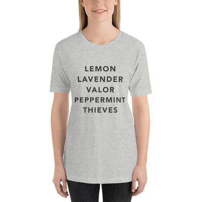 Leanne & Co. Athletic Heather / S Essential Oils Short-Sleeve Unisex T-Shirt