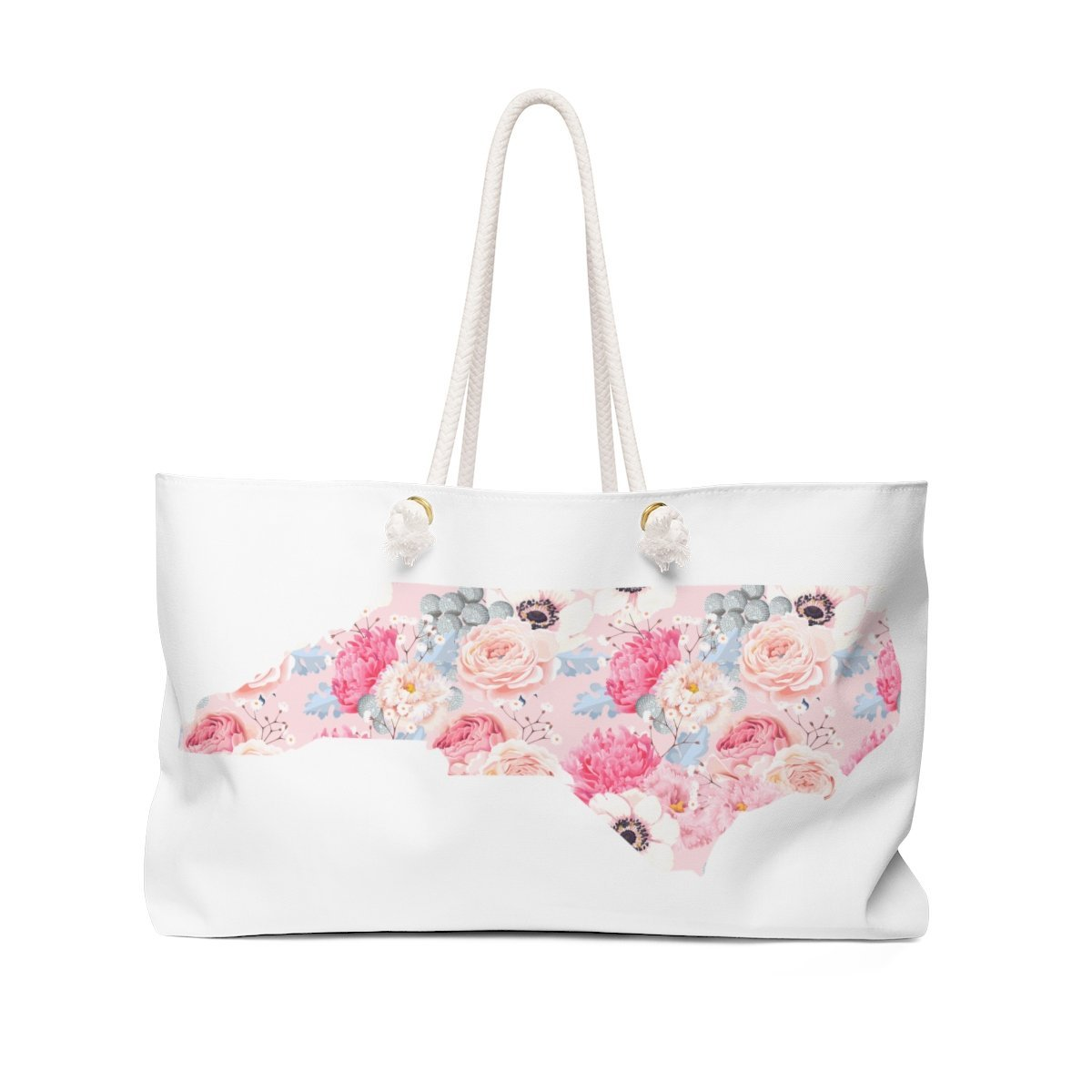 Leanne & Co. Bags 24x13 North Carolina Peonies Weekender Bag