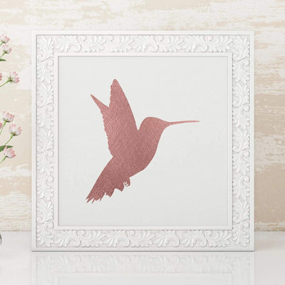 Leanne & Co. Digital Print Hummingbird Metallic Foil Print