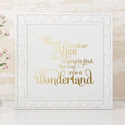 Leanne & Co. Digital Print Wonderland Metallic Foil Print