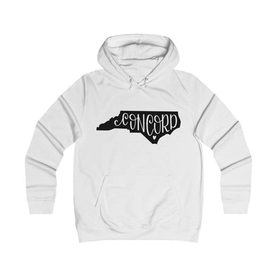 Leanne & Co. Hoodie Arctic White / XS Concord, NC Classic Unisex Hoodie