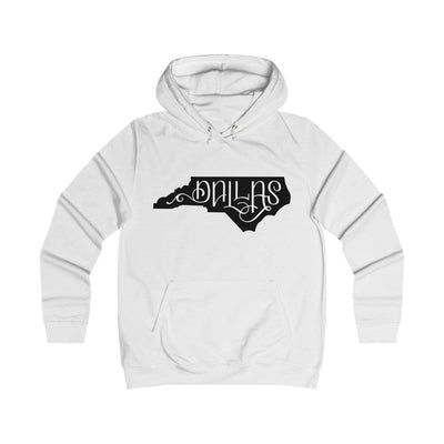 Leanne & Co. Hoodie Arctic White / XS Dallas, NC Classic Unisex Hoodie