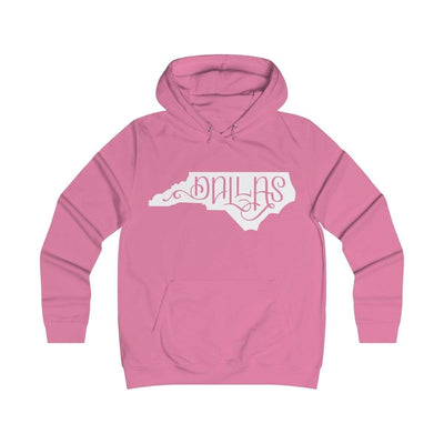 Leanne & Co. Hoodie Candyfloss Pink / XS Dallas, NC Classic Unisex Hoodie