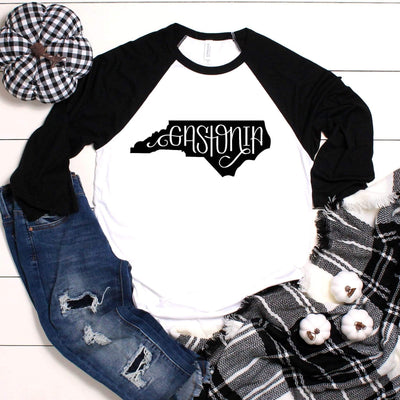 Leanne & Co. Long-sleeve Gastonia, NC Raglan Tee