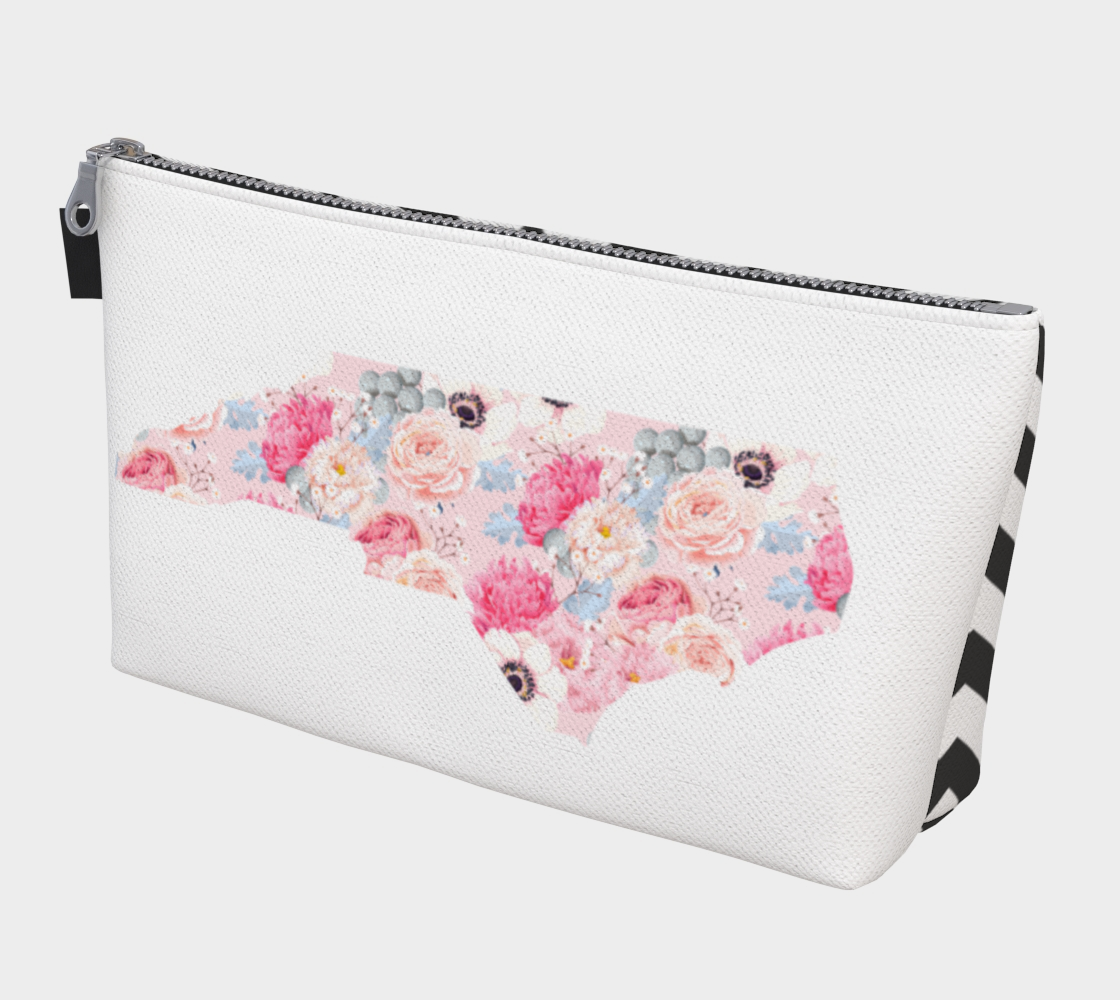 Leanne & Co. Makeup Bag North Carolina Peonies Makeup Bag